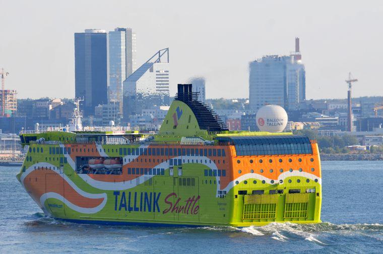 Von Tallinn fahren im Stundentakt die Fähren von dort nach Helsinki oder Stockholm.