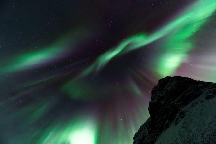 Ein Hauptgrund für viele Reisende, nach Island zu kommen: die Nordlichter.