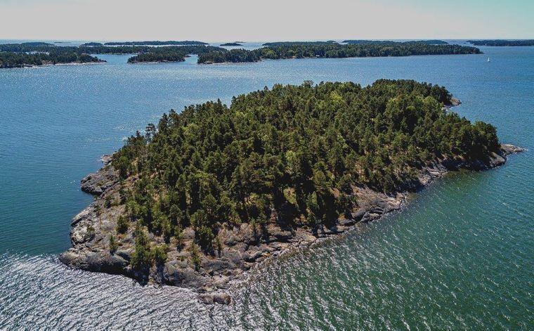 10 Frauen können gleichzeitig auf der winzigen Insel in der Ostsee Urlaub machen.
