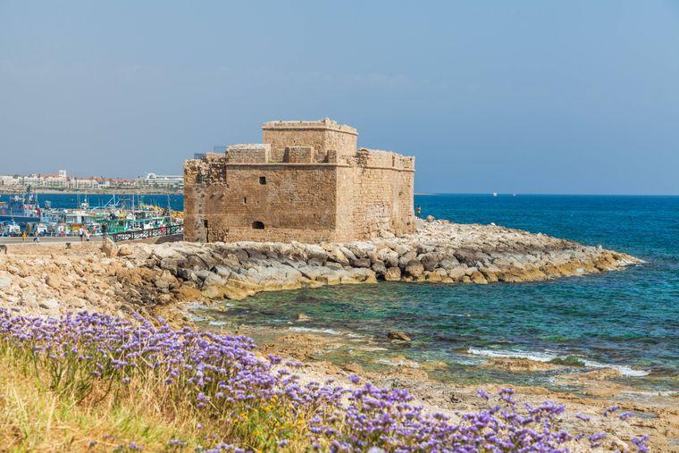 Paphos Castle auf Zypern.