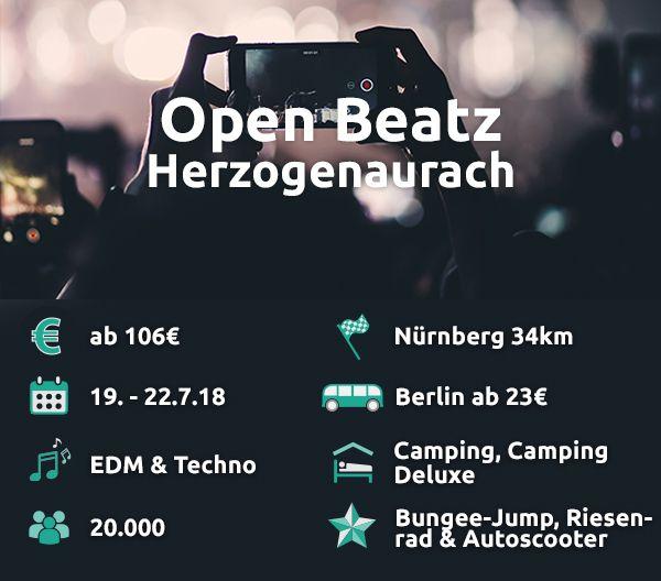 Das Open Beatz bedient so ziemlich jede elektronische Musikrichtung.
