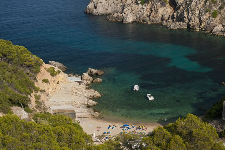 Strand Cala d'en Serra, Ibiza