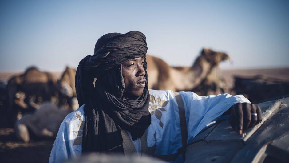Westsahara besteht zum Großteil aus Wüste.