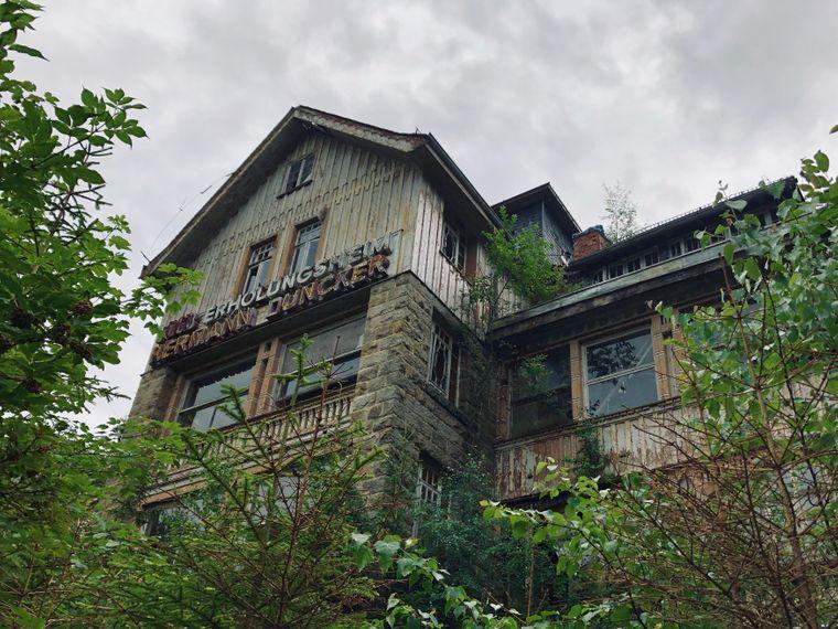 """Lost Place: Das """"FDGB-Erholungsheim Hermann Duncker"""" in Schierke."""