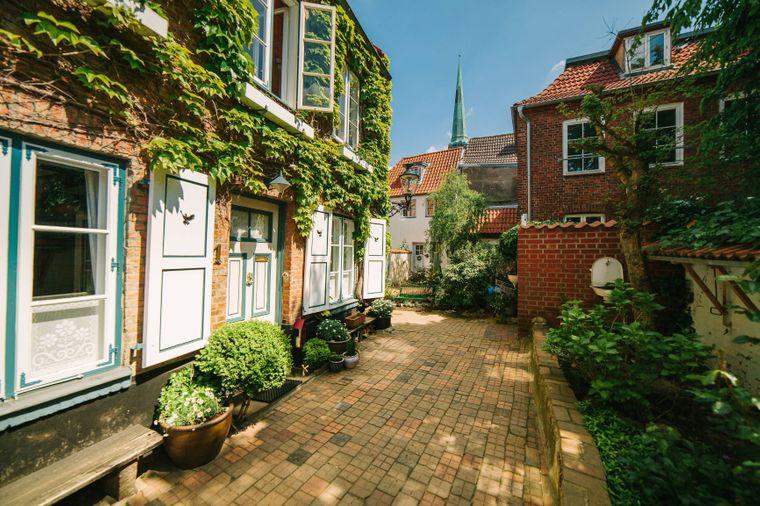 Die Lübecker Gänge und Höfe sind ein echter Geheimtipp.