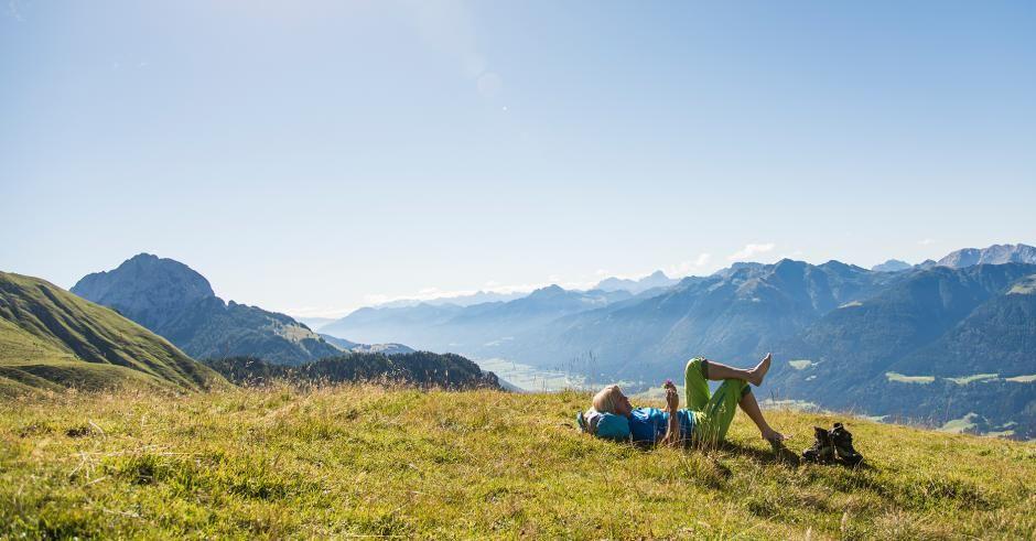 Komm auf einem der Wanderwege in Kärnten zur Ruhe