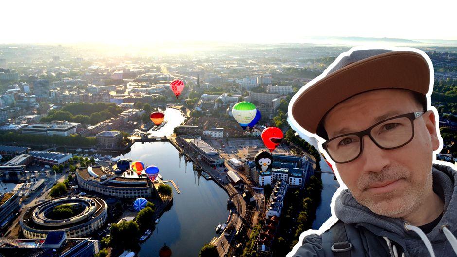 Bristol ist für reisereporter Michael eine der coolsten britischen Städte.