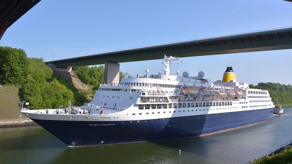 Top-Place für Shipspotter: Der Nord-Ostsee-Kanal.