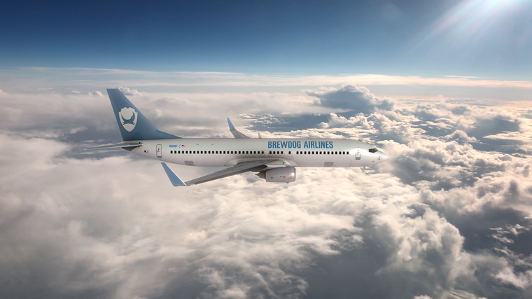 Für den Jungfernflug will die Brauerei ein Flugzeug chartern.