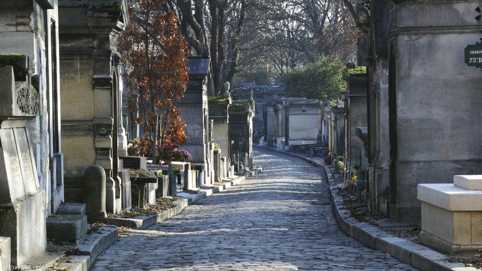 Friedhof Père Lachaise, Frankreich.