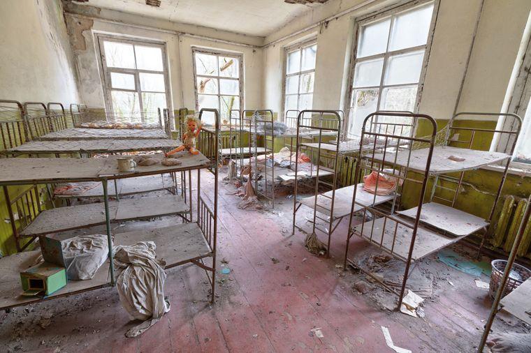 Kindergarten in Prypjat: In der Stadt lebten 1986 rund 15.500 Kinder.