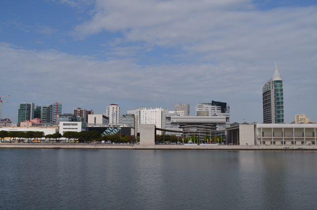 Der Parque das Nações: Hier fand 1998 die Expo statt.