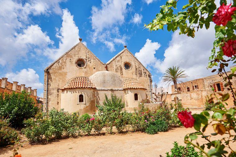 Das Kloster Arkadi lockt jedes Jahr Abertausende Touristen an.