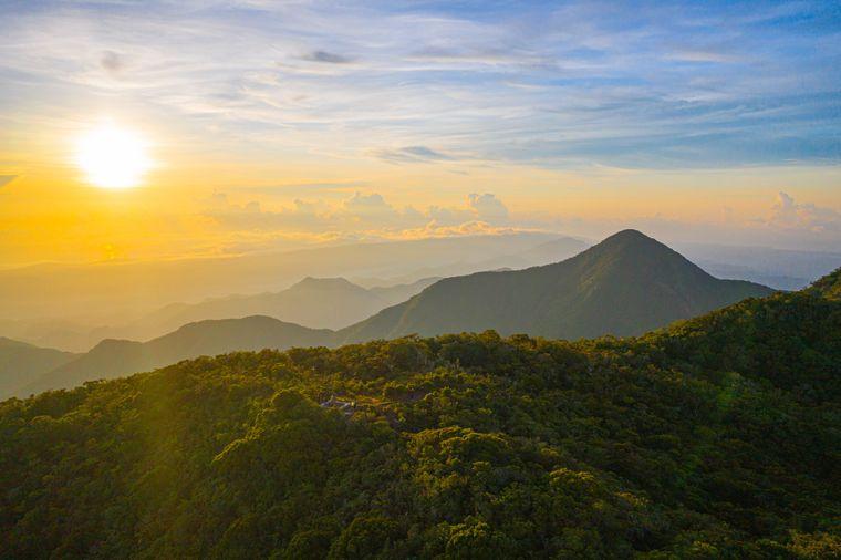 Bei einer Wanderung durch die Blue Mountains hast du einmalige Ausblicke auf die Karibikinseln Jamaika.