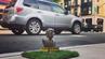 """""""Pinkel mich an"""" fordert diese Trump-Skulptur. Wer unterwegs in New York ist, kann derzeit nach dieser kleinen Attraktion Ausschau halten."""