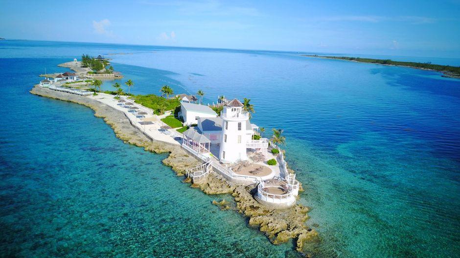 Das private Bahamas-Paradies von Peter Rebman heißt Pearl Island.