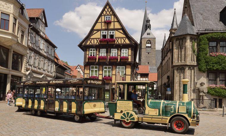 Quedlinburg in Sachsen-Anhalt.