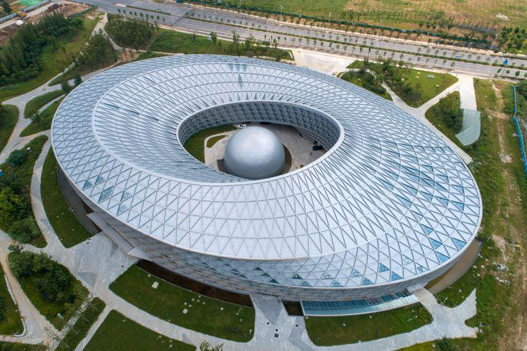 Museum für Wissenschaft und Technologie in Xiangyang in China
