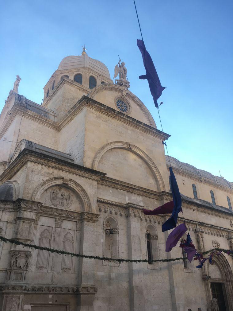 Die Kathedrale in Sibenik.