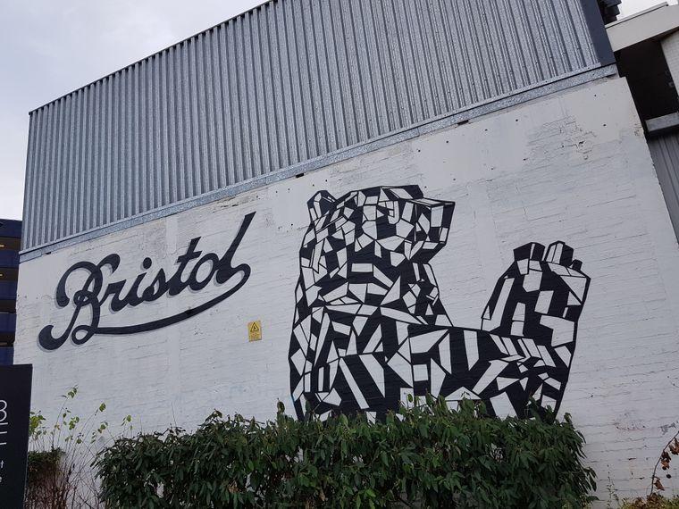 Bristol ist auch eine DER Street-Art-Hochburgen Großbritanniens.