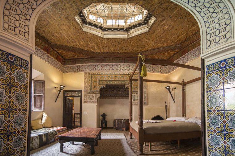 """Der """"gemütliche Palast"""" in Marrakesch wurde aufwendig restauriert."""