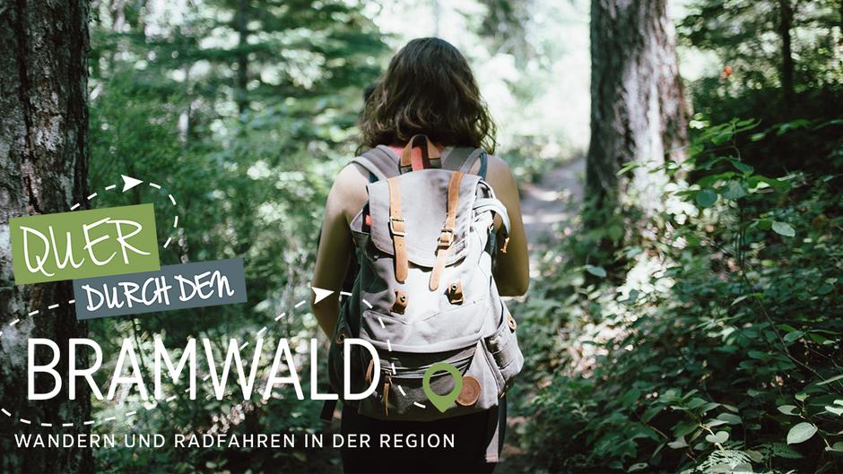 Quer durch den Bramwald – Radfahren und Wandern in der Region