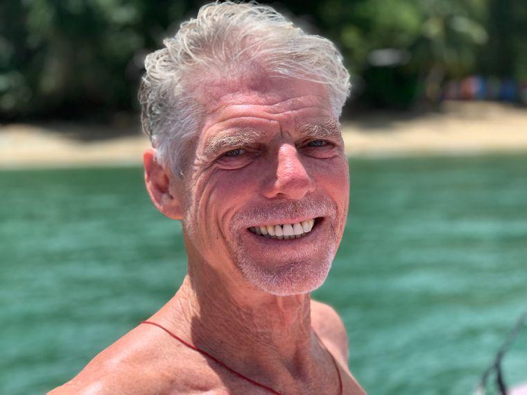 Steve Felgate betreibt an der Westküste von Tobago das Castara Retreats.