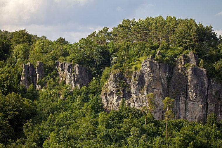 So sehen die Gerolsteiner Dolomiten aus.