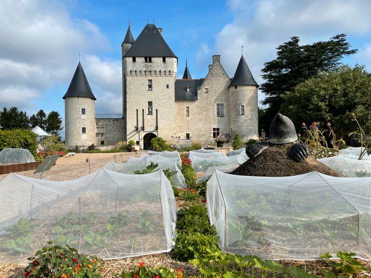 Die Besitzer von Château du Rivau widmen sich auch dem Erhalt alter Obst- und Gemüsesorten.