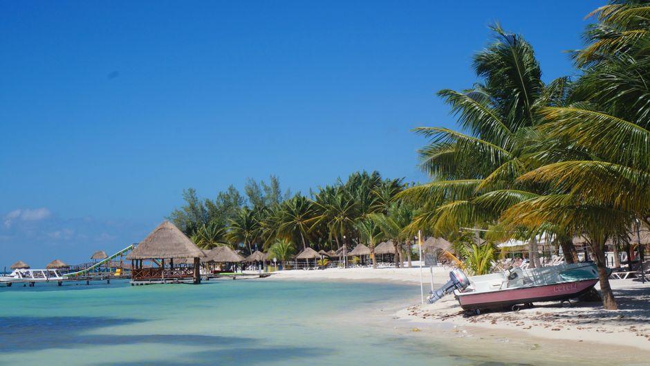 Fischerdorf-Romantik auf der Isla Mujeres.