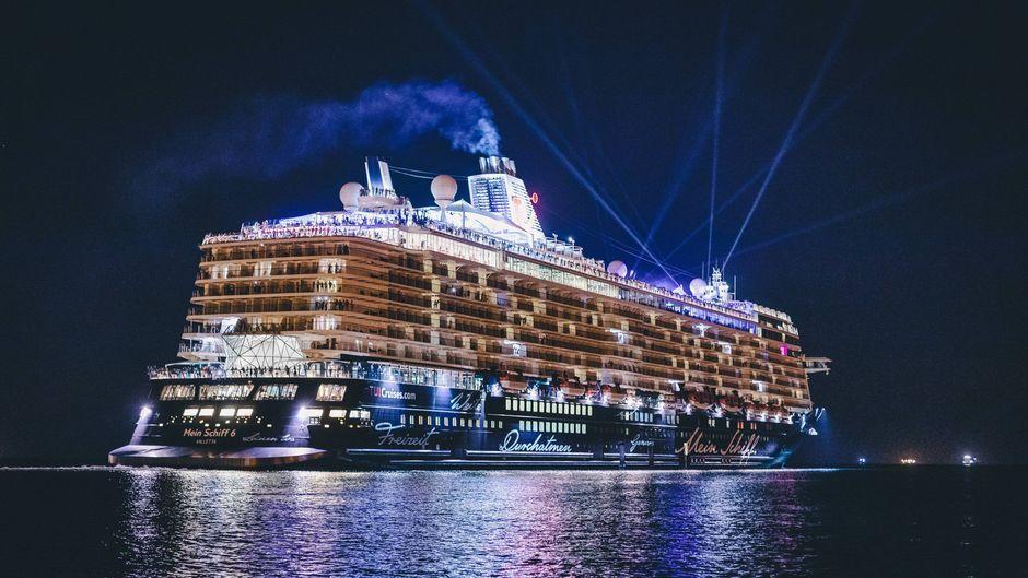 """""""Mein Schiff 6"""" von Tui Cruises."""