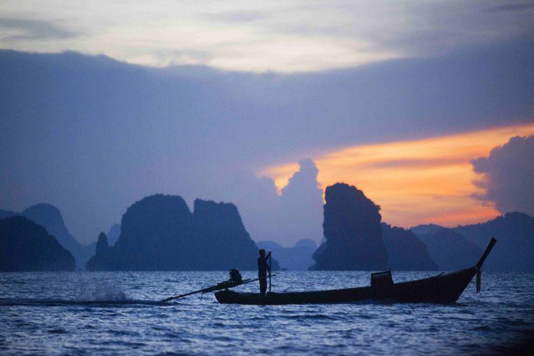 Abendstimmung vor Koh Yao Noi – genieß die Ruhe...