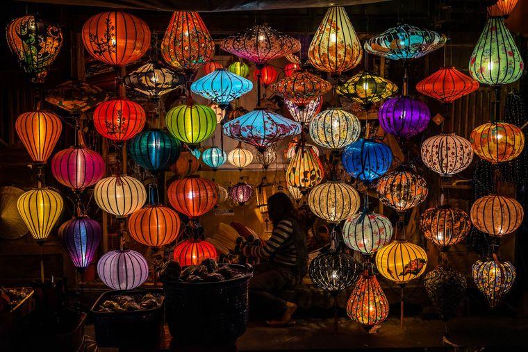 Laternen aus Hoi An