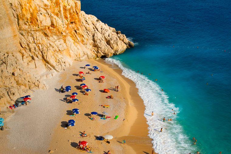 Klein und fein: Selbst in der Hochsaison zieht es nur wenige Touristen an den Strandabschnitt.