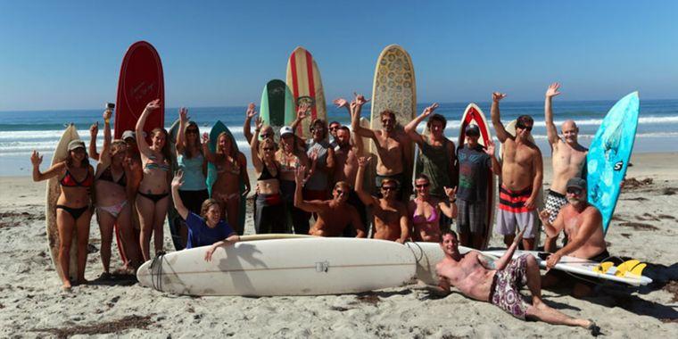 """Die """"Gay Surf Community"""" wächst beständig. (Symbolfoto)"""