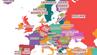 Übersetzte Vorurteils-Karte von Yanko Tsvetkov: Wie Russland Europa sieht.