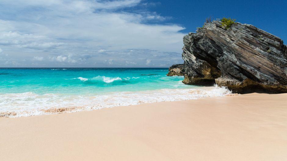 Horseshoe Bay ist vielleicht der bekannteste Strand auf Bermuda.