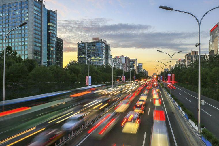 Licht an beim Autofahren in Russland