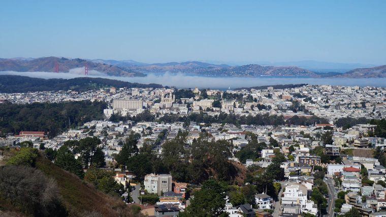 Eine Stadt im Nebel: San Francisco