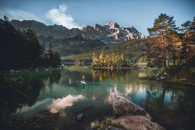 Unterwegs in Garmisch-Partenkirchen.