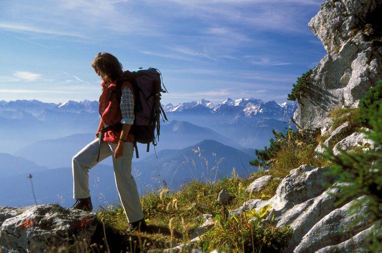 Der Benediktenwand in Oberbayern.
