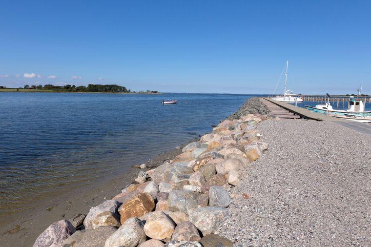 Am Hafen von Ærøskøbing ist ein Spaziergang besonders idyllisch.