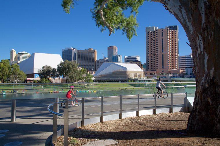 Adelaide ist die kosmopolitische Hauptstadt des Bundesstaates South Australia und die dritte australische Stadt in den Top 10.