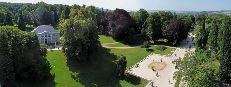 Blick auf den Kurpark Bad Nenndorf