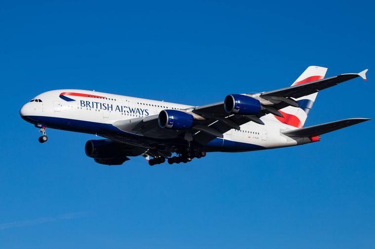 British Airways A380.