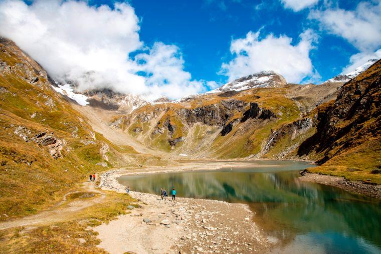 Nationalpark Hohe Tauern in Österreich.