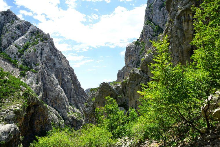 Der imposante Velebit inmitten des Paklenica-Nationalparks.