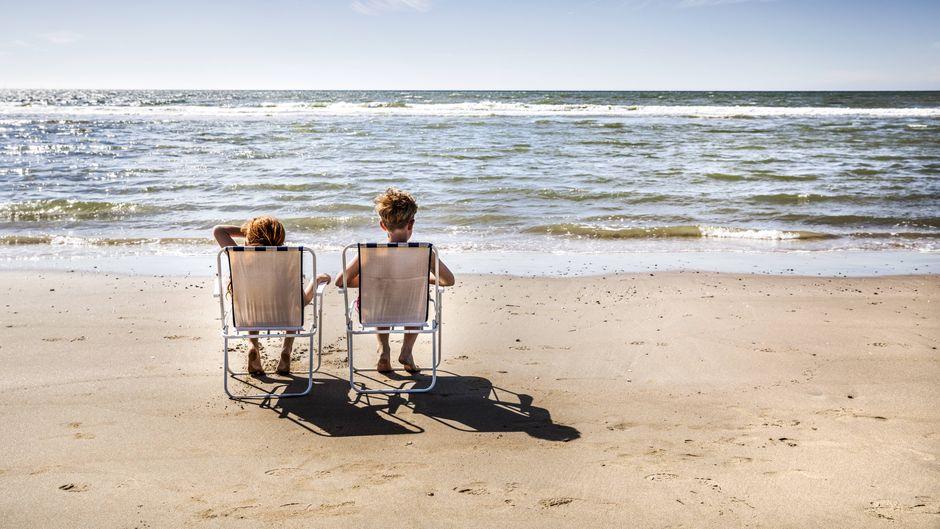 Strand von Zandvoort.