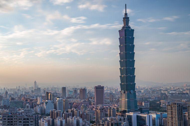 Der Taipeh 101 war bei seiner Fertigstellung Anfang des Jahrtausends noch das höchste Gebäude der Welt. Inzwischen reicht es aber nur noch gerade so eben für die Top 10.