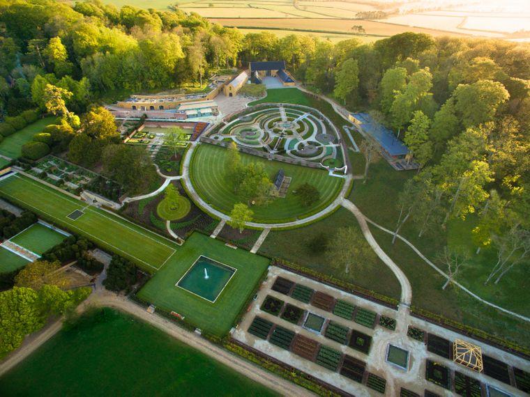 Zwischen bunten Obstgärten entsteht ein neues Hotel: The Newt Farmyard.